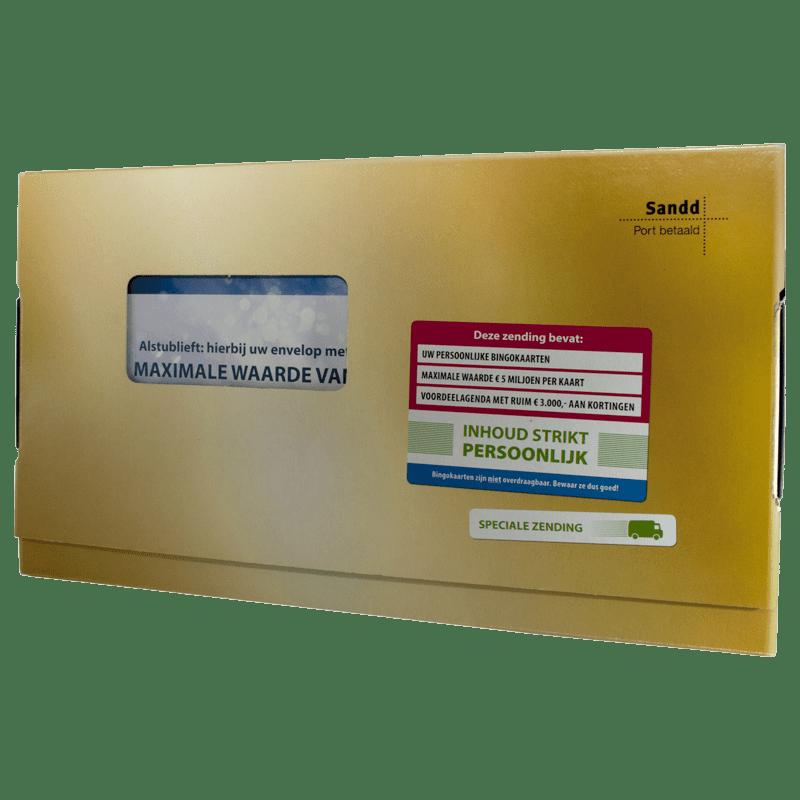 Postcodeloterij Agenda Verpakking